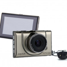 Camera auto DVR iUni Dash 100H, Dual Cam, Full HD, WDR, 170 grade, by Anytek