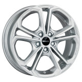 Jante OPEL ADAM S 7J x 17 Inch 5X110 et40 - Mak Hessen Silver - pret / buc, 7, 5