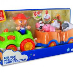 Jucarie muzicala - Tractorul de la ferma PlayLearn Toys