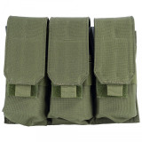 Port Incarcator Triplu M4/M16 Olive GFC Tactical