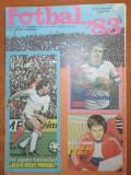 Revista fotbal 1983-universitatea craiova,balaci,m. lucescu,m. radulescu,boloni
