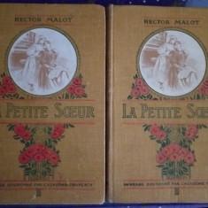 Hector Malot- La Petite Soeur, bibliofilie