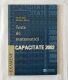 F. Banu M. Stoica - Teste de matematica - Capacitate 2002