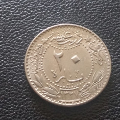 Monedă 20 Para 1914 Turcia