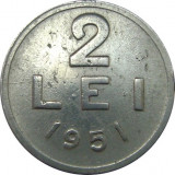 Romania, 2 lei 1951  * cod 92