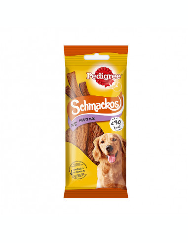 Recompense pentru caini Pedigree Schmackos Multi mix, 36 g