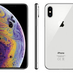 Iphone xs 64gb silver nou sigilat full box codat orange
