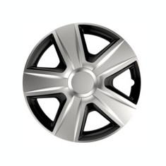 Capace roti auto Esprit BC 4buc - Argintiu/Negru - 15' ManiaMall Cars