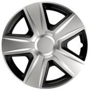 Capace roti auto Esprit BC 4buc - Argintiu/Negru - 15' ManiaMall Cars foto