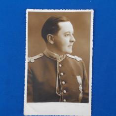 FOTOGRAFIE TIP CARTE POSTALA , MILITAR , FOTO VICTOR GROSS , GALATI , 1937