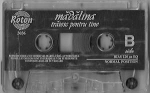 Caseta Mădălina Manole – Trăiesc Pentru Tine, originala, holograma