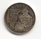 50 bani 2011, Mircea cel Bătrân, România, UNC din fișic