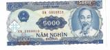 Bancnota 5000 dong 1991 - Vietnam