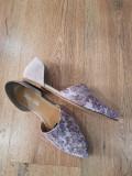 LICHIDARE STOC! Superbi pantofi-balerini dama noi piele naturala comozi 38