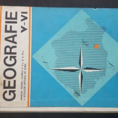 GEOGRAFIE - Manual pentru clasele a V - VI-a a scolilor speciale de surzi. 1970, Clasa 5