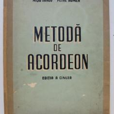 METODA DE ACORDEON - MISU IANCU