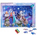 Puzzle 100 piese + Bonus Frozen, Disney