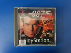 007 Tomorrow Never Dies - carcasă + manual PS1 (Playstation 1) foto