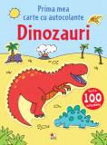 Prima mea carte cu autocolante. Dinozauri