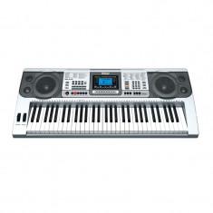 Orga electronica, 61 de clape, USB, intrare microfon, display LED