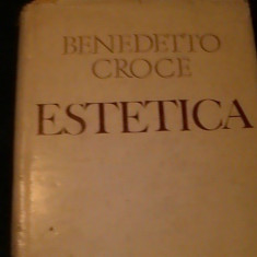 ESTETICA - BENEDETTO CROCE-TRAD. DUMITRU TRANCA-575 PG-