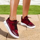 Pantofi sport dama visinii Corinia