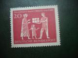 HOPCT TIMBRE MNH 873  ORGANIZATIA CRALOG/CARE    1963  - 1 VAL GERMANIA