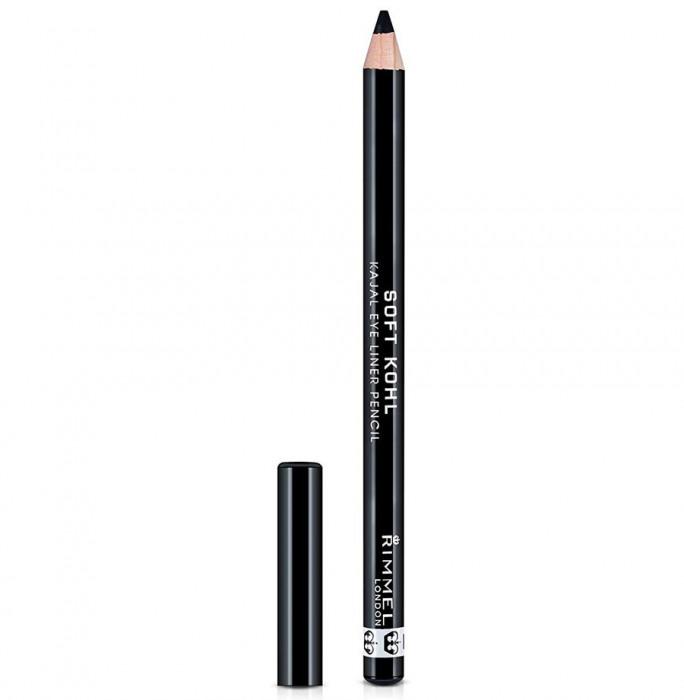 Creion de ochi Rimmel London Soft Kohl Kajal Eye Pencil 061 Jet Black 1.2 g