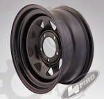 Jante Off-road, 16inch, montaj-15, spațierea șuruburilor 5x139,7, diametru 110mm, lăţime 7inch,culoare negru,4MADF031