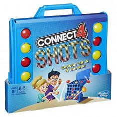 Joc de societate Connect 4 cu aruncari - Connect4 Shots