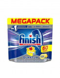 Tablete detergent pentru masina de spalat vase Finish Quantum Lemon, 60 bucati