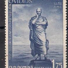 1957 - 2000 de ani de la nasterea lui Ovidiu, neuzata