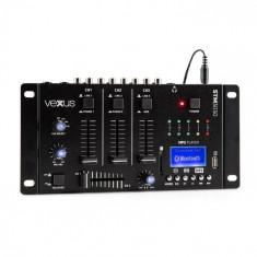 Vexus STM3030 4-Kanal-Mischpult Bluetooth USB SD MP3 cu LED-uri