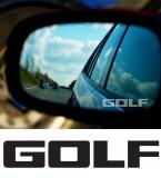 Stickere oglinda ETCHED GLASS - GOLF (set 3 buc.)