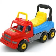 Masinuta fara pedale-Camion - MaxiTruck, 69x28x41 cm, Wader