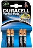 Duracell Baterie alcalina Micro (AAA,R03) 1,5V MX2400 Turbo Max 4 buc