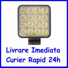 Proiector LED MINI 48W SPOT 30°, 12/24V. AL-300620-8