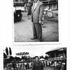 Fotografie lot 2 poze motociclete si balci Romania perioada comunista