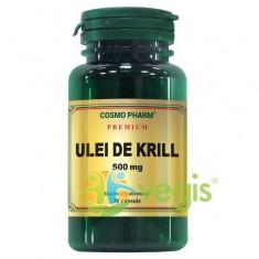 Ulei de Krill Superba-2 500mg 30cps Premium