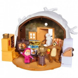 Jucarie Simba Copii Masha and the Bear Winter Bear's House