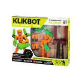 Set figurina robot articulat transformabil KlikBot Studio Pack, Noriel