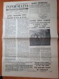 Informatia bucurestiului 15 martie 1977-articole si foto cutremurul din 4 martie