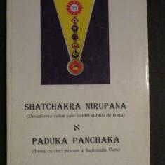 Shatchakra nirupana. Paduka panchaka