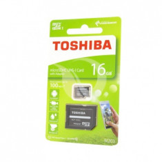 Carduri de memorie, toshiba micro sd, clasa 10, 16gb
