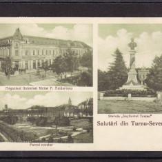 SALUTARI  DIN TURNU  SEVERIN    MAGAZIN  UNIVERSAL  VICTOR  P.  MALDARESCU, Drobeta-Turnu Severin, Circulata, Printata