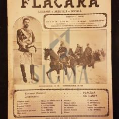 BANU C. (Director), FLACARA (Literara, Artistica si Sociala), Anul II, Numarul 38, 1913, Bucuresti