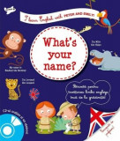 I learn english what's your name'/Larousse