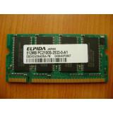 MEMORIE LAPTOP Elpida Pc2100S-2533-0-A1 512mb DDR1