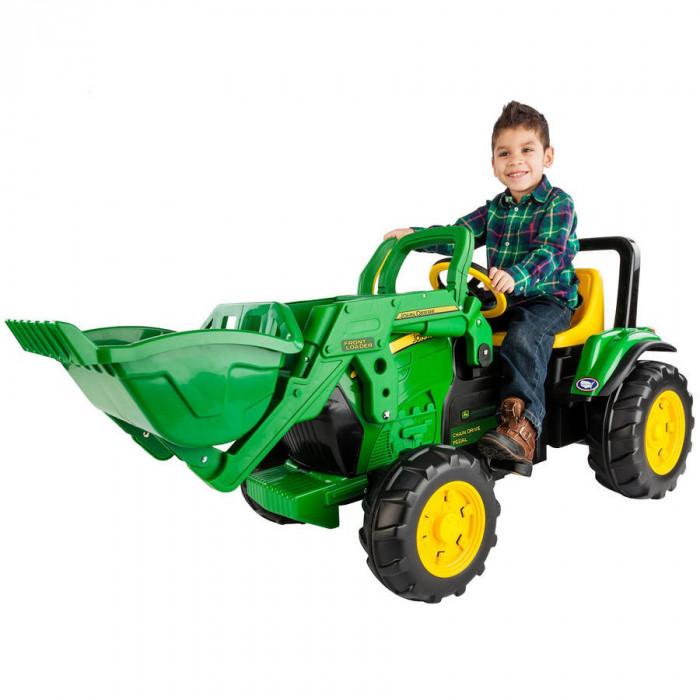 Tractor cu pedale Peg Perego John Deere cu încărcător frontal