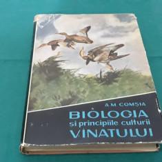 BIOLOGIA ȘI PRICIPIILE CULTURII VÂNATULUI/A. M. COMȘIA/ 1961